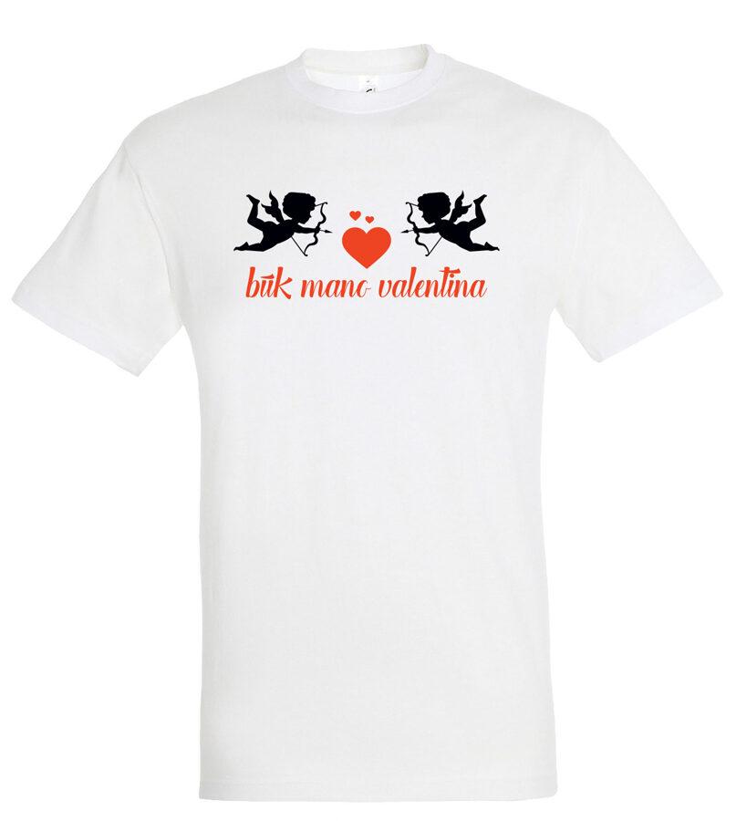 Marškinėliai PORAI - Būk mano Valentinas / Valentina