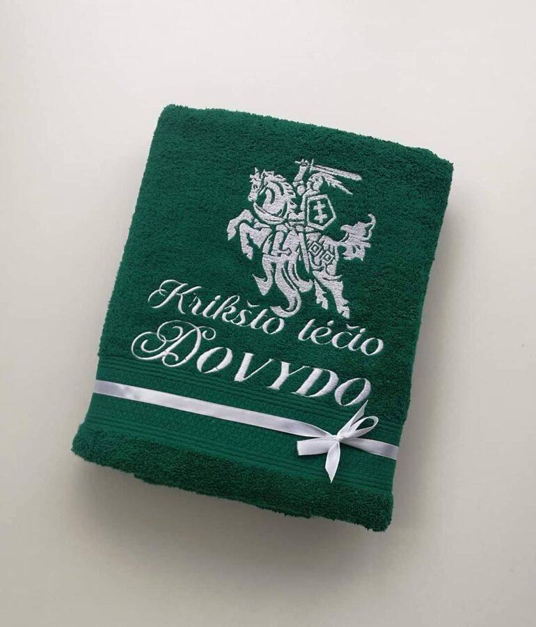 Siuvinėtas rankšluostis (Vytis)