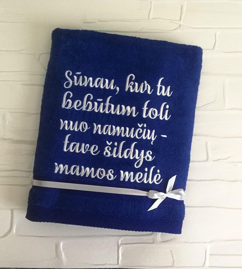 Siuvinėtas rankšluostis - Sūnau