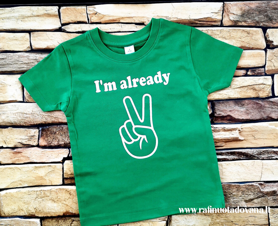 Marškinėliai - 2 metai