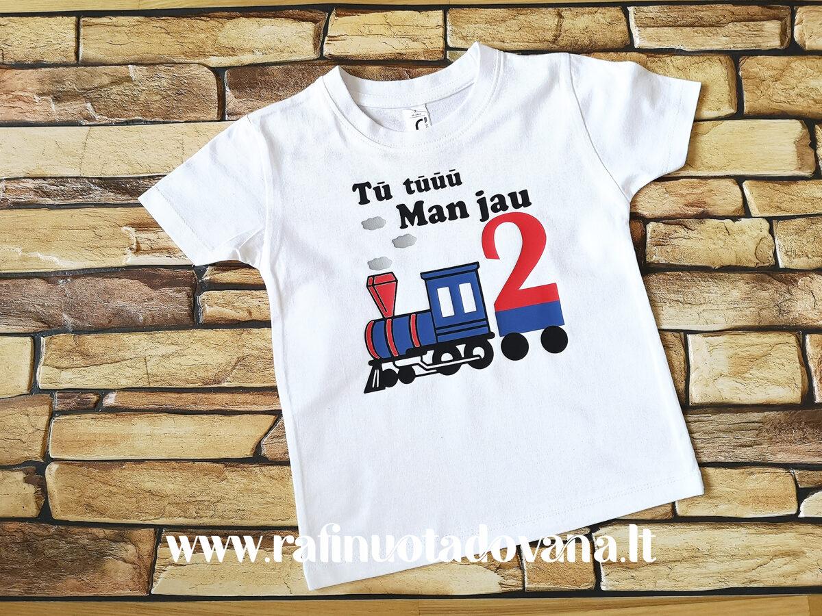 Marškinėliai - Traukinukas