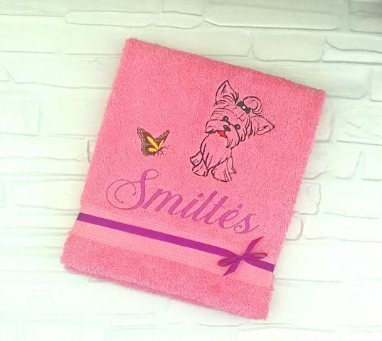 Siuvinėtas rankšluostis (Smiltės)