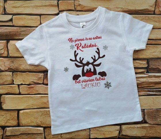 Marškinėliai - Labai laukiu Kalėdų
