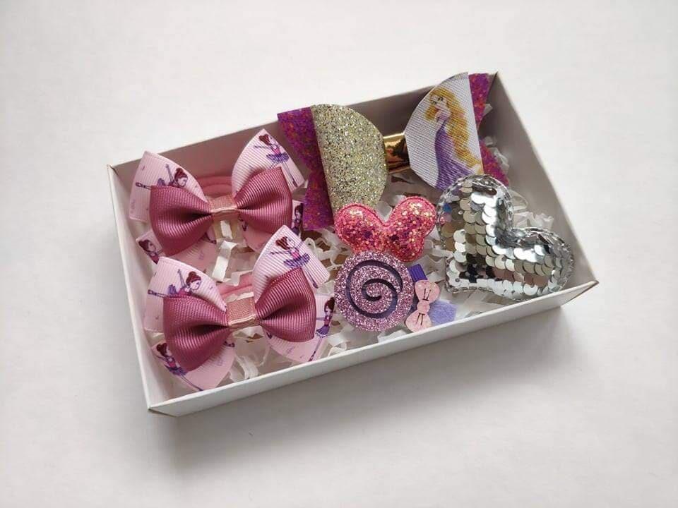 Rinkinukas (rožinis - violetinis)