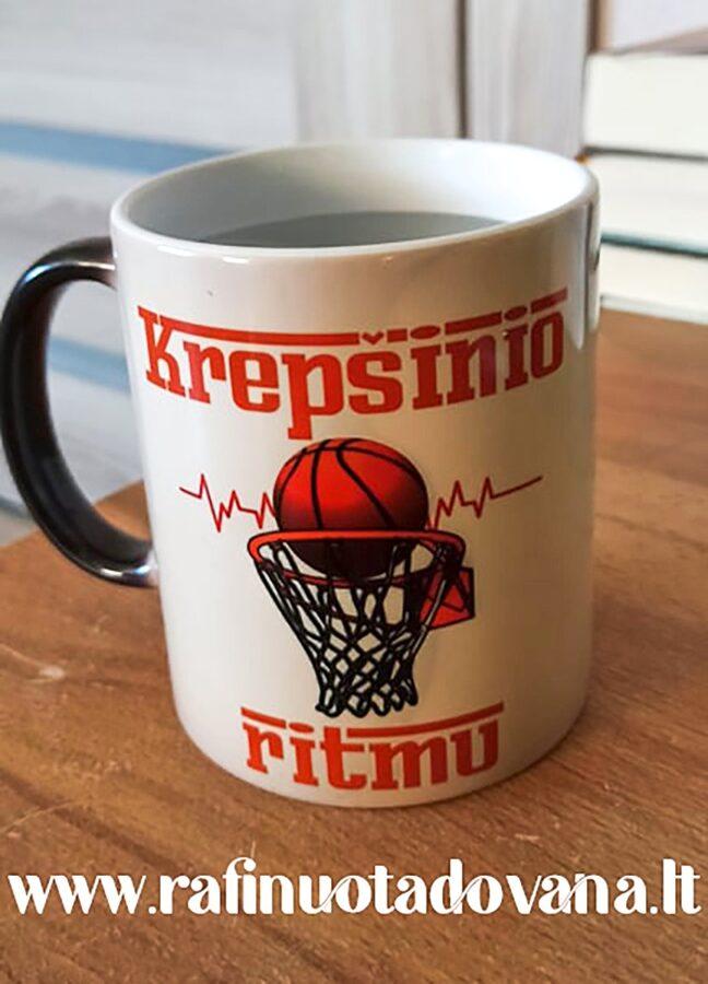 Magiškas puodelis Krepšinis