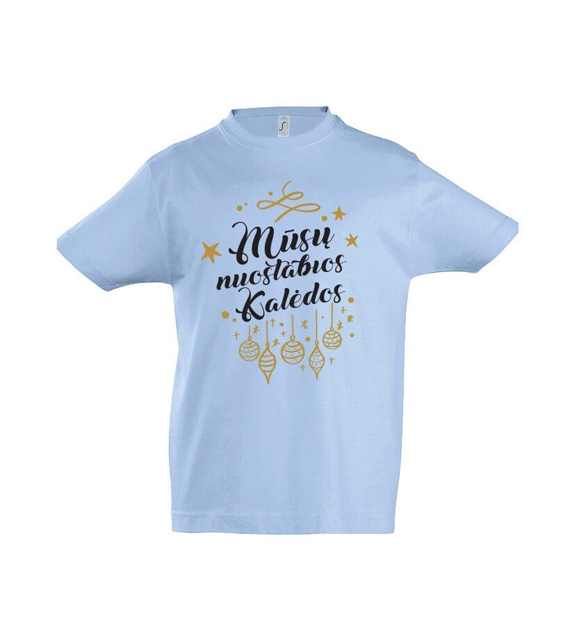 Marškinėliai - Mūsų nuostabios Kalėdos (vaikams)