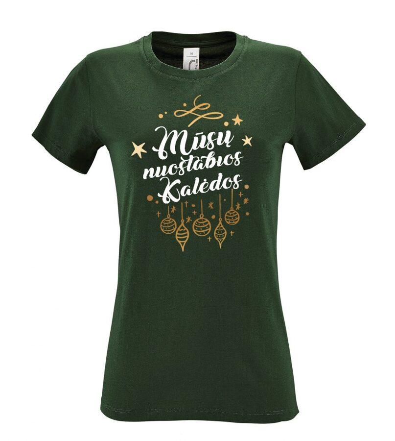 Marškinėliai - Mūsų nuostabios Kalėdos (moteriški)