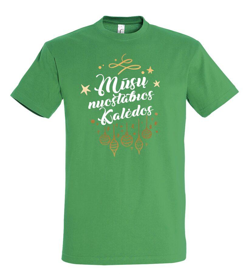 Marškinėliai - Mūsų nuostabios Kalėdos (vyriški)