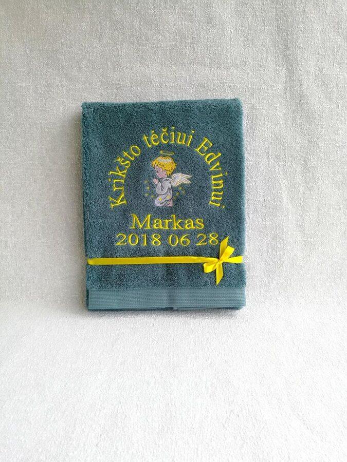 Siuvinėtas rankšluostis (Markas)
