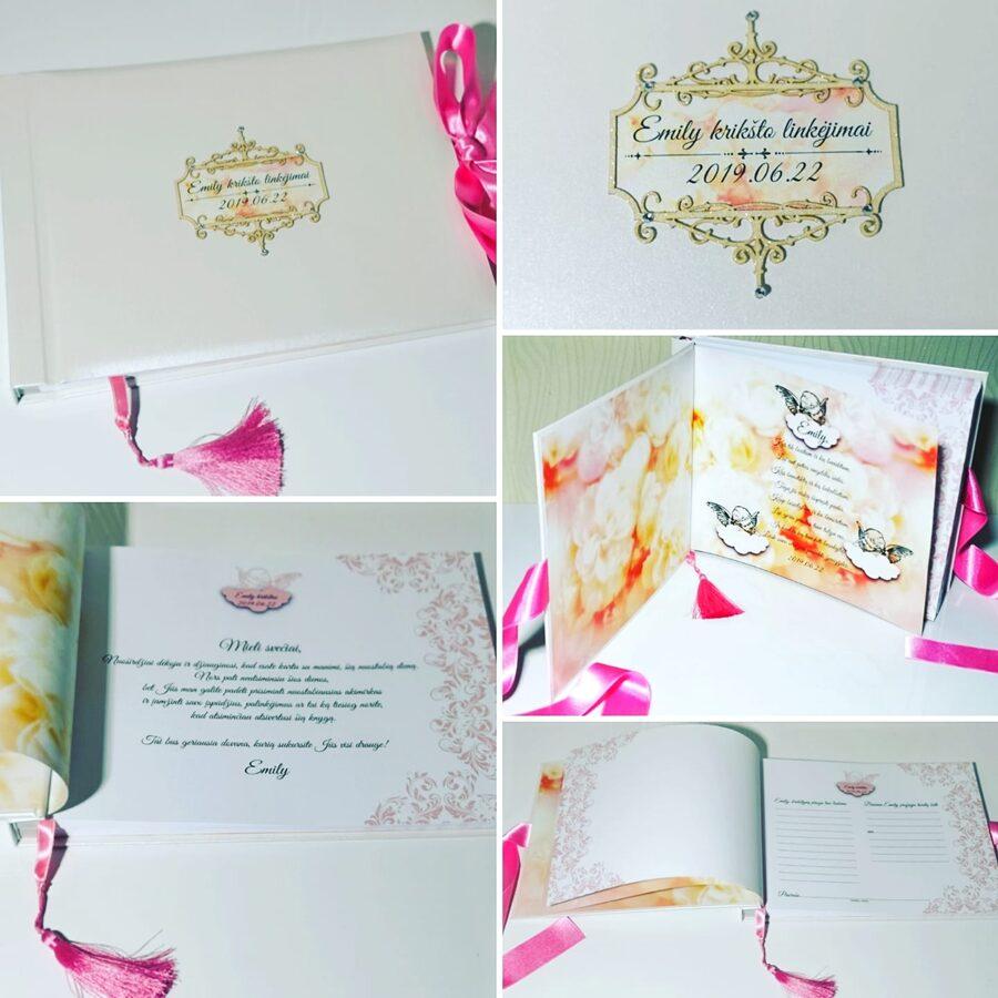 Linkėjimų knyga - nuotraukų albumas