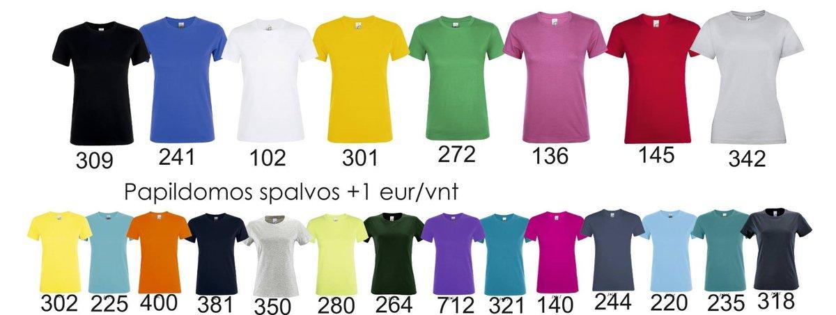 Marškinėliai MOTERIŠKI Legends