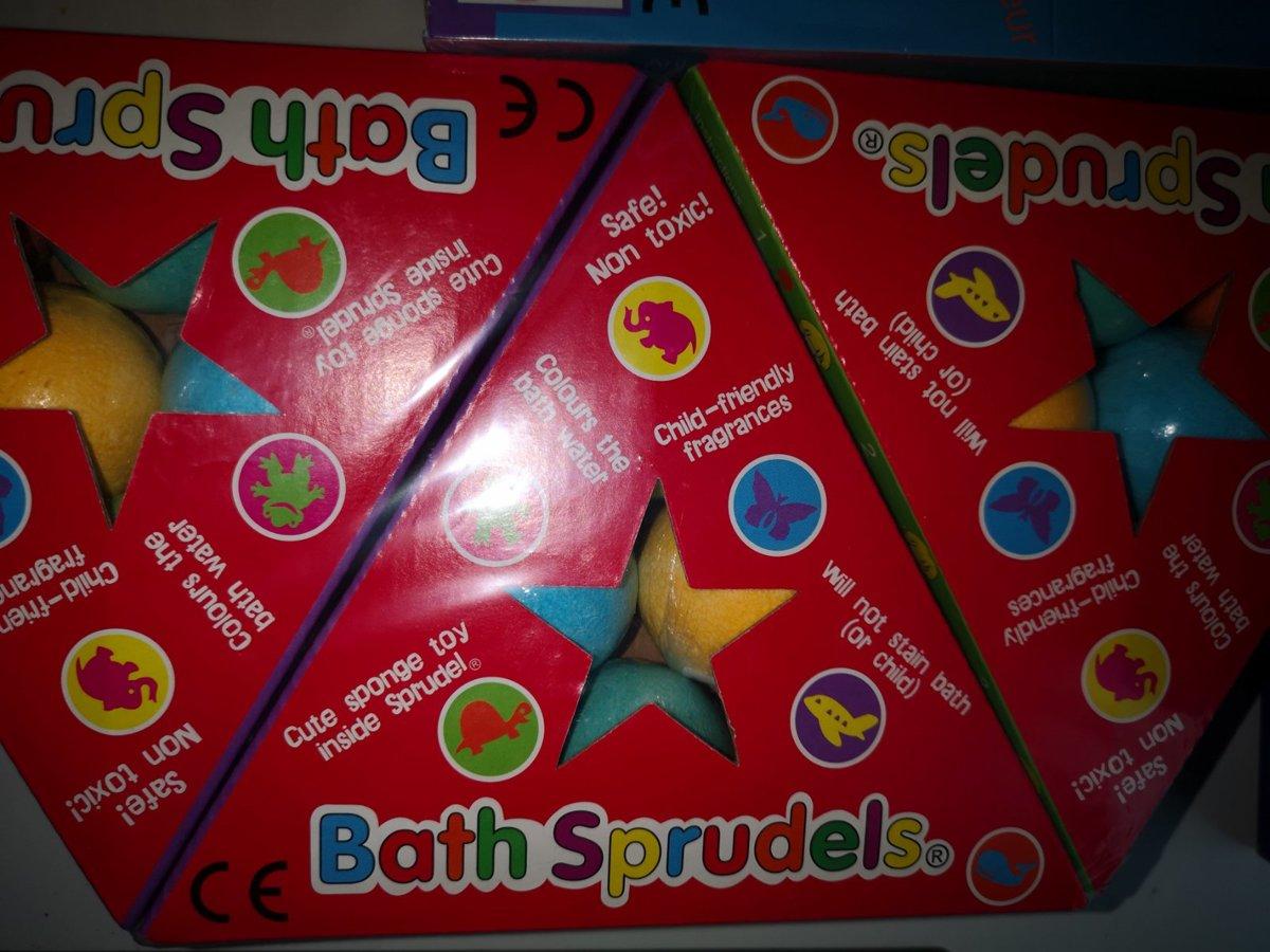 Stebuklingi vonios burbulai (6 vnt. pakuotė)