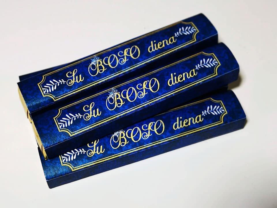 Boso saldainiai (mėlyni)