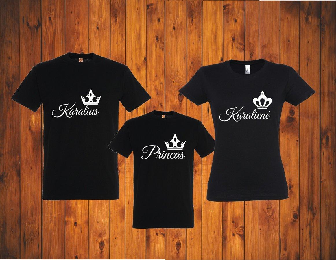 """Marškinėliai PORAI """"Karaliai"""""""