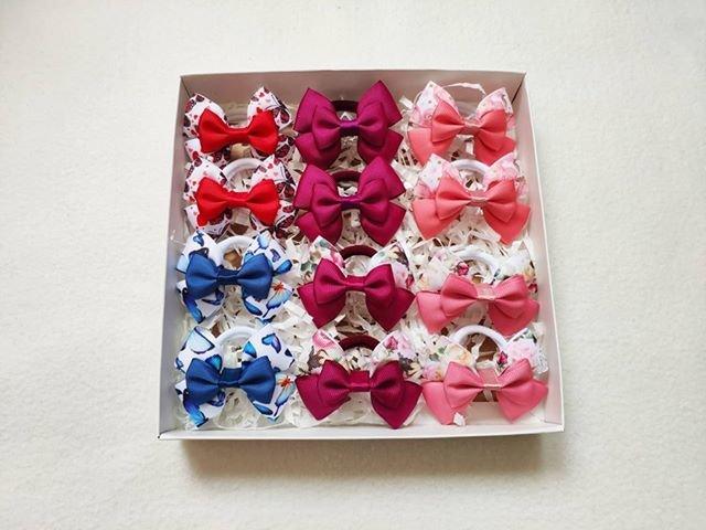 Plaukų gumyčių porelių dėžutė Nr. 1