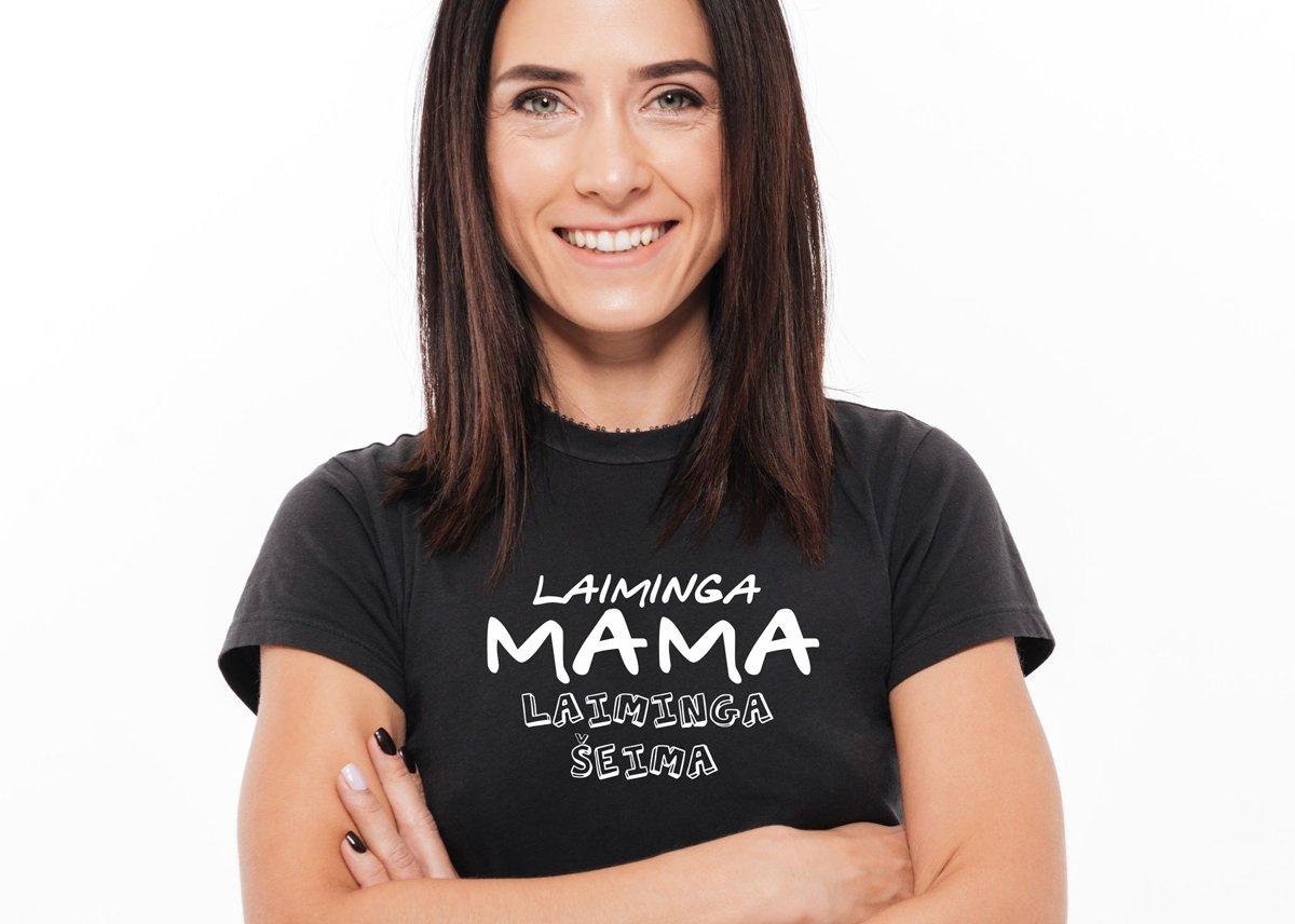 Marškinėliai - Laiminga Mama...