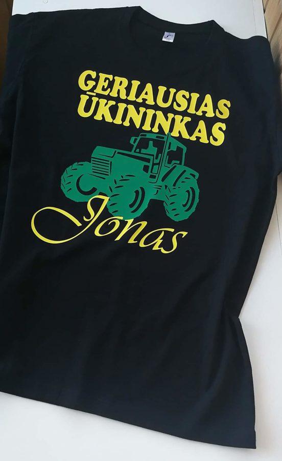 Marškinėliai Ūkininkas Jonas