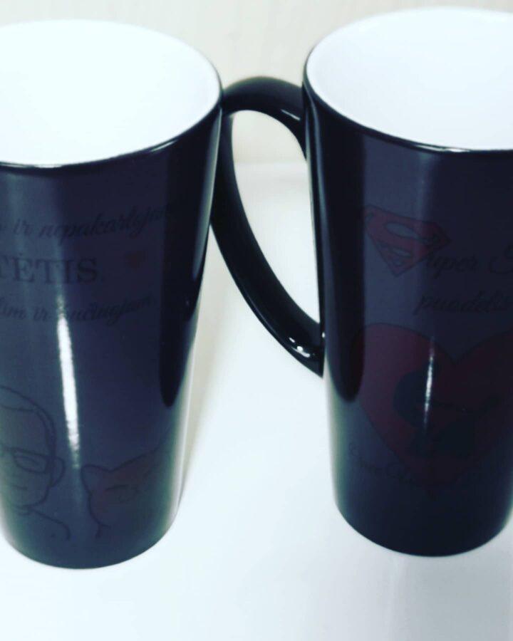 Magiškas puodelis Vienintelis Tėtis (su Jūsų tekstu)