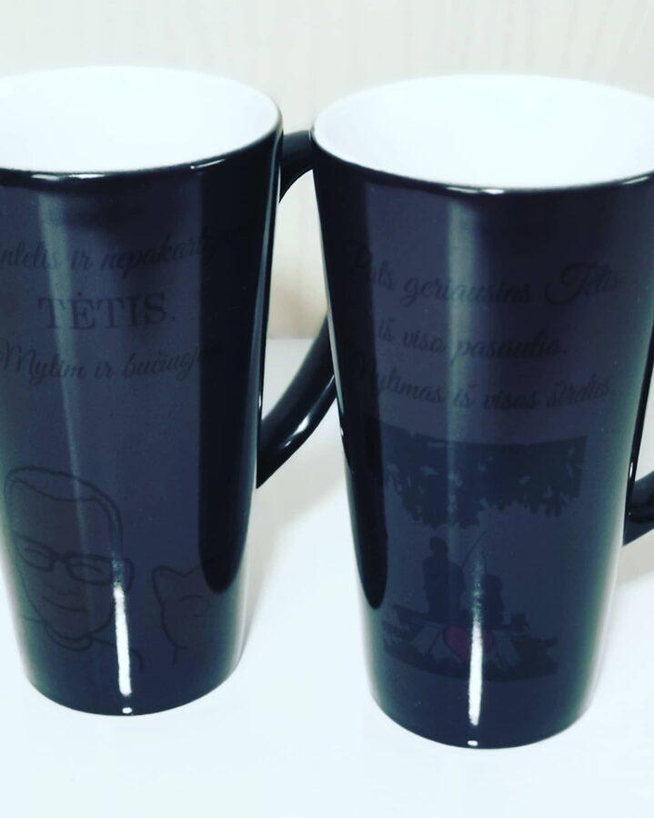 Magiškas Latte puodelis Geriausias Tėtis