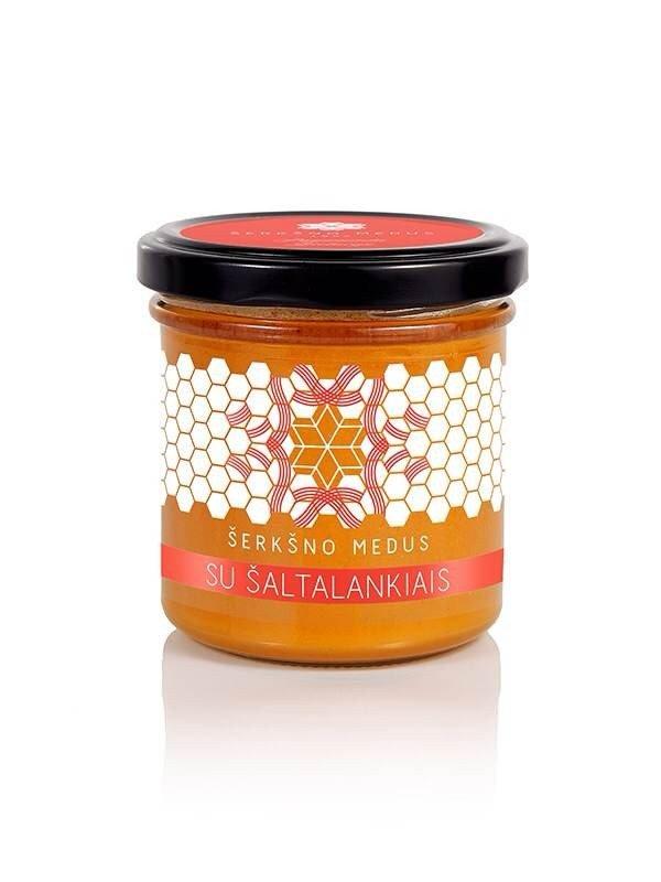 Medus su šaltalankiais, 200 g
