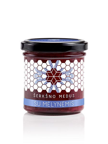 Medus su mėlynėmis, 200 g