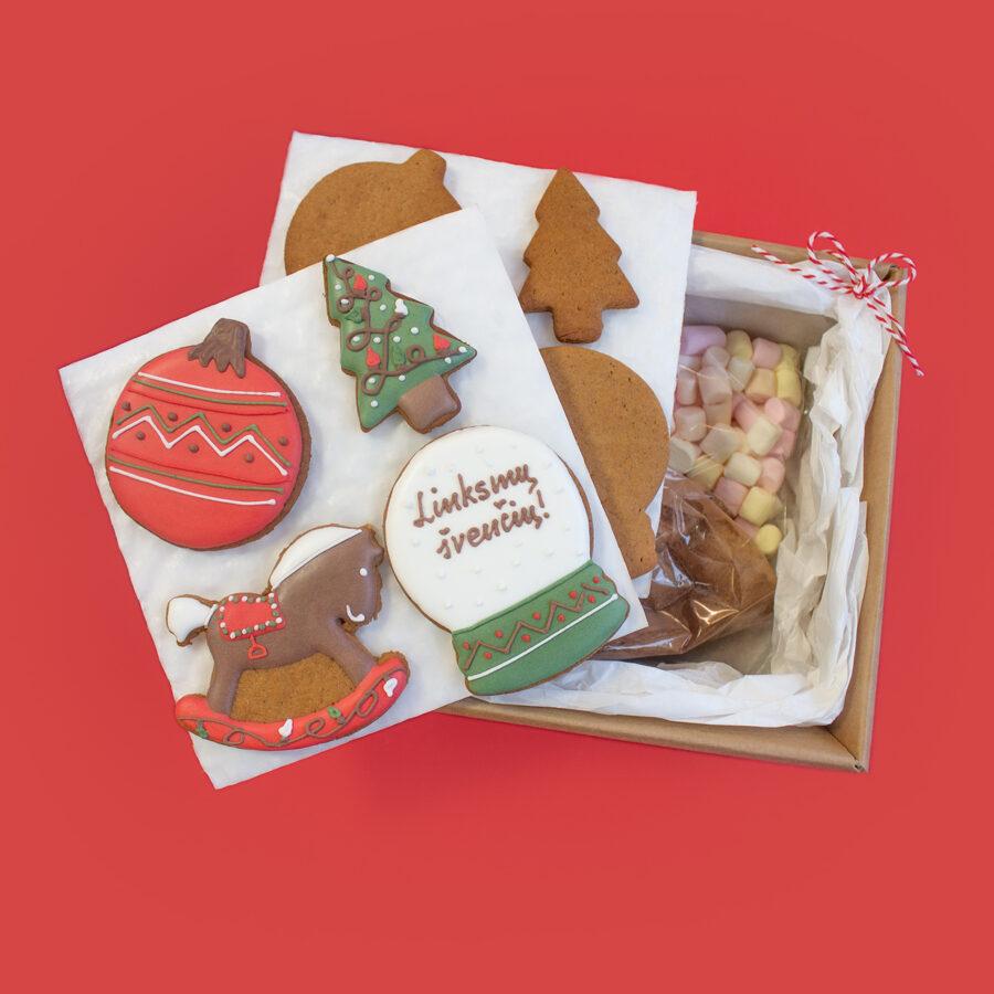 Kalėdinė dovana stebuklas (meduoliai)