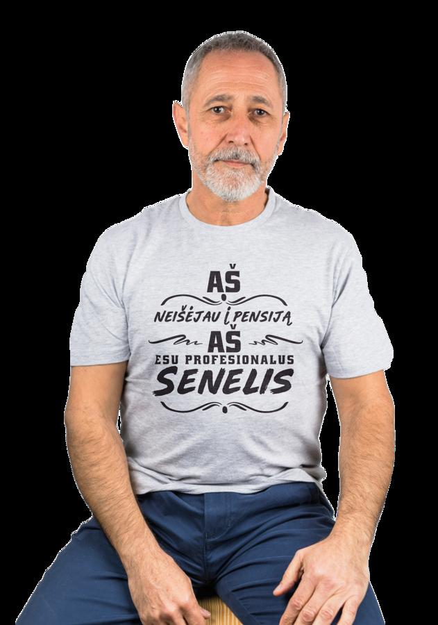 Marškinėliai - Aš neišėjau į pensiją...