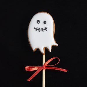 Mažas vaiduoklis ant pagaliuko