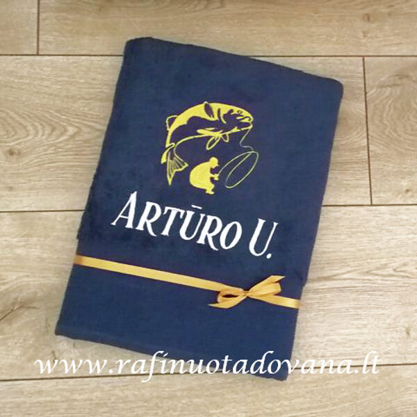 Siuvinėtas rankšluostis Artūro