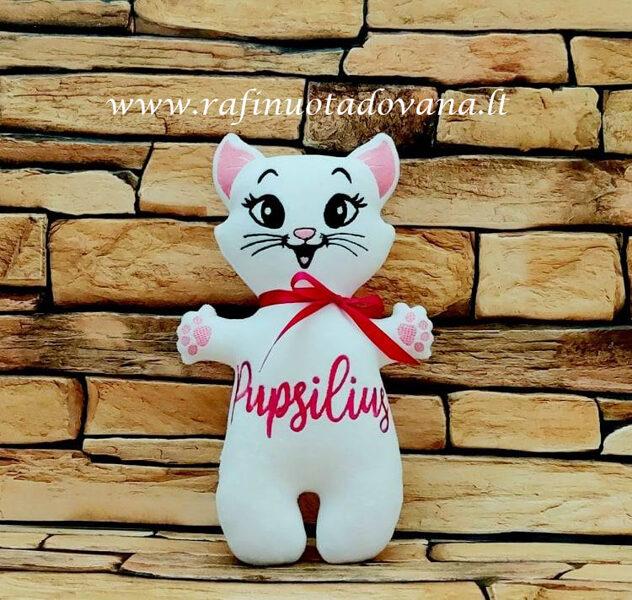 Siuvinėtas katinėlis - Su Jūsų norimu užrašu
