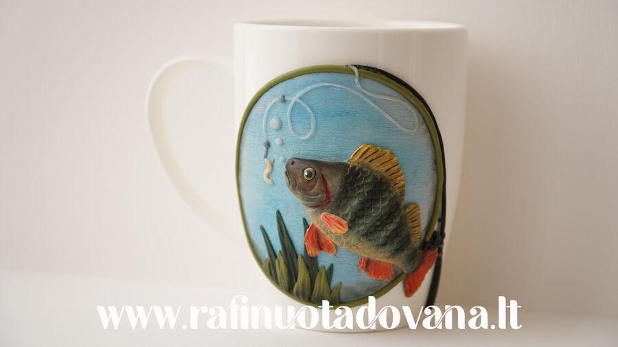 """Dekoratyvinis puodelis """"Žuvis"""""""
