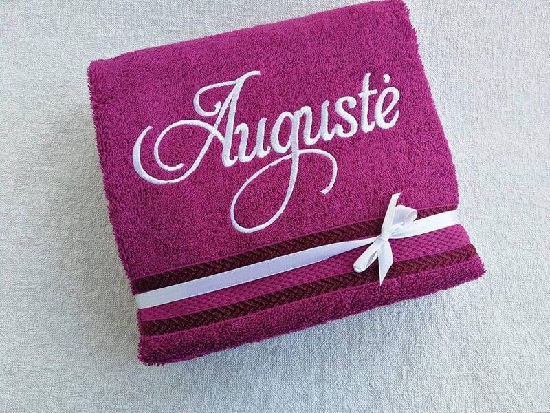 Siuvinėtas rankšluostis (Augustė)