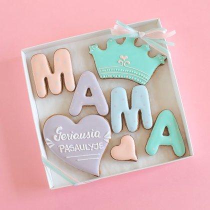 Rinkinukas 'Mama' su Jūsų tekstu!