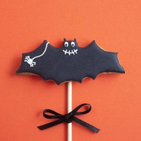 Šikšnosparnis ant pagaliuko