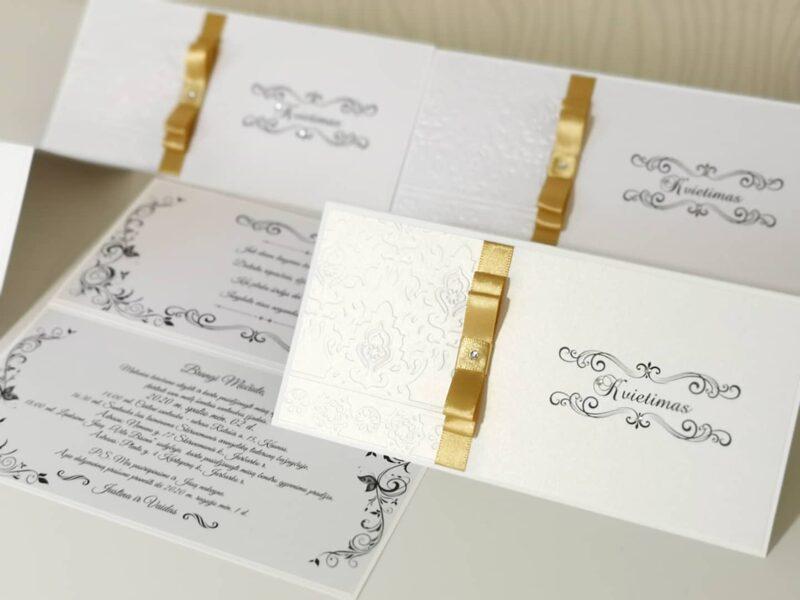 Vestuvių kvietimas KV6