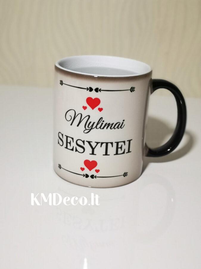 Magiškas puodelis su spauda Sesei